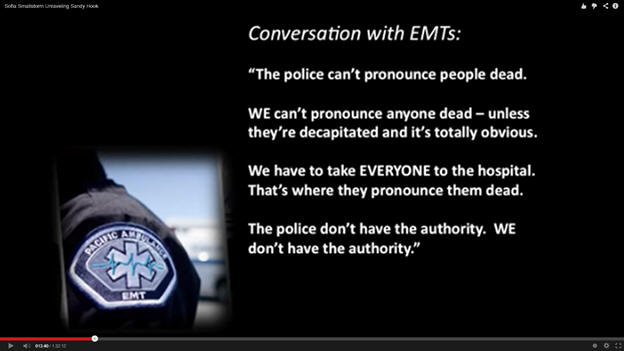 Coversation with EMTs